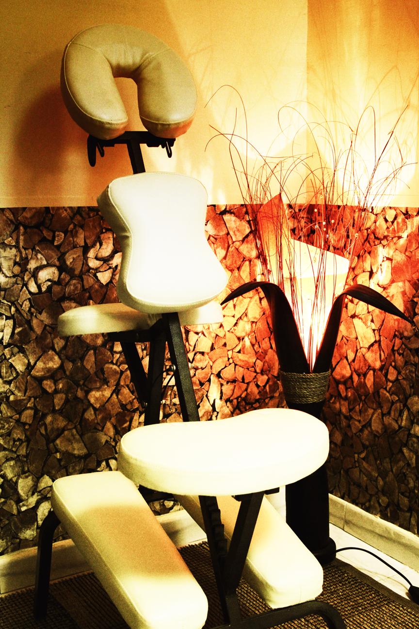 centro benessere Caserta sedia massaggi